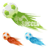 Vector soccer background Royalty Free Stock Photography