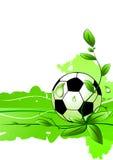 Vector soccer background Stock Photo