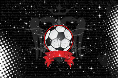 Vector soccer ball Stock Images