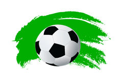 Vector soccer ball Royalty Free Stock Images