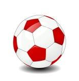 Vector soccer ball Royalty Free Stock Photography