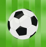 Vector soccer ball Stock Photography