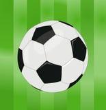 Vector soccer ball Stock Photography