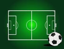Vector soccer ball Royalty Free Stock Photo