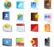Vector Social Media icon set Stock Photos