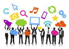Vector of Social Media Networking Stock Photo