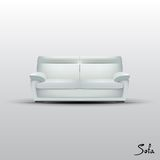 Vector Sofa Royalty Free Stock Photography