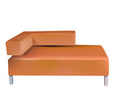 Vector sofa Royalty Free Stock Photos