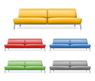 Vector sofa Stock Photography