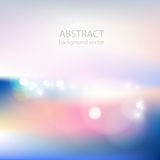 Vector of soft colored abstract background. Stock Image
