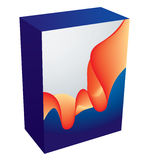 Vector software box Stock Photos
