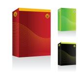 vector Software box Stock Photos