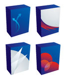 Vector software boxes Stock Photos