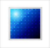 Vector solar panel. Icon. Royalty Free Stock Images