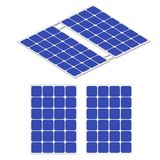 Renewable energy. Solar energy. Solar panel Royalty Free Stock Image