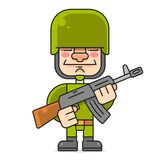 Soldier Aiming Can Be Used As A Print For T`shirts, Bags, Cards And Posters