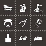 Vector spa icon set Stock Photo