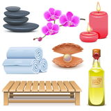 Vector SPA Icons Set 2 Stock Photos