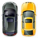 Vector Spaanse auto's. Royalty-vrije Stock Afbeeldingen