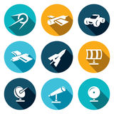 Vector Space Icons set Stock Photography