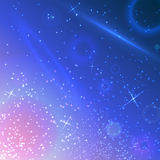 Vector space sky  background Royalty Free Stock Images