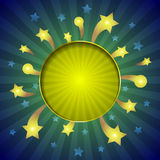 Vector sparkle background Royalty Free Stock Photo