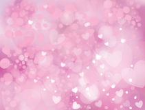 Vector sparkle, pink background. Stock Image