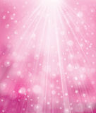 Vector sparkle pink background. Stock Photo