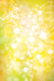 Vector   sparkle, yellow  background. Stock Image