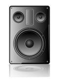 Vector speaker. A vector speaker icon on white background Royalty Free Stock Photo