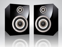 Vector speakers Stock Photography