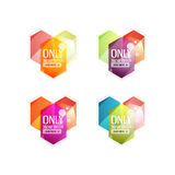 Vector special offer stickers and banners Royalty Free Stock Photo