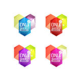Vector special offer stickers and banners Royalty Free Stock Photography