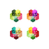 Vector special offer stickers and banners Royalty Free Stock Photos