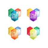 Vector special offer stickers and banners Stock Photo