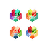 Vector special offer stickers and banners Stock Photography