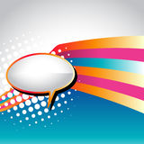 Vector speech bubble Stock Images