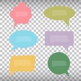 Vector speech bubble Royalty Free Stock Photography