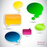 Vector Speech Bubbles Stock Photos