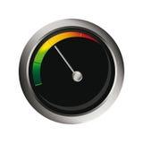 Vector speedometer Stock Images