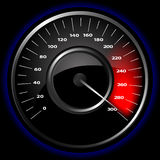 Vector speedometer Royalty Free Stock Photos