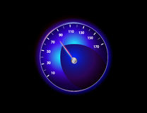 Vector speedometer Stock Image