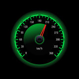 Vector speedometer Stock Photo