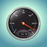 Vector Speedometer Icon Stock Images