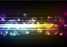 Vector Speedy Lights Stock Image