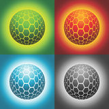 Vector sphere. Patterned vector sphere EPS 8.0 file available vector illustration