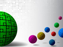 Vector sphere Royalty Free Stock Photography