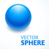 Vector sphere abstract with text Stock Photo
