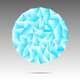 Vector of Spherical abstract ball Royalty Free Stock Image