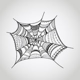 Vector spider-web Royalty Free Stock Photo